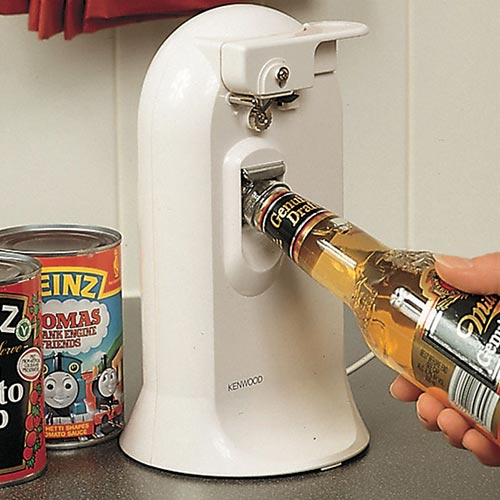 Kenwood Electric tin and bottle opener