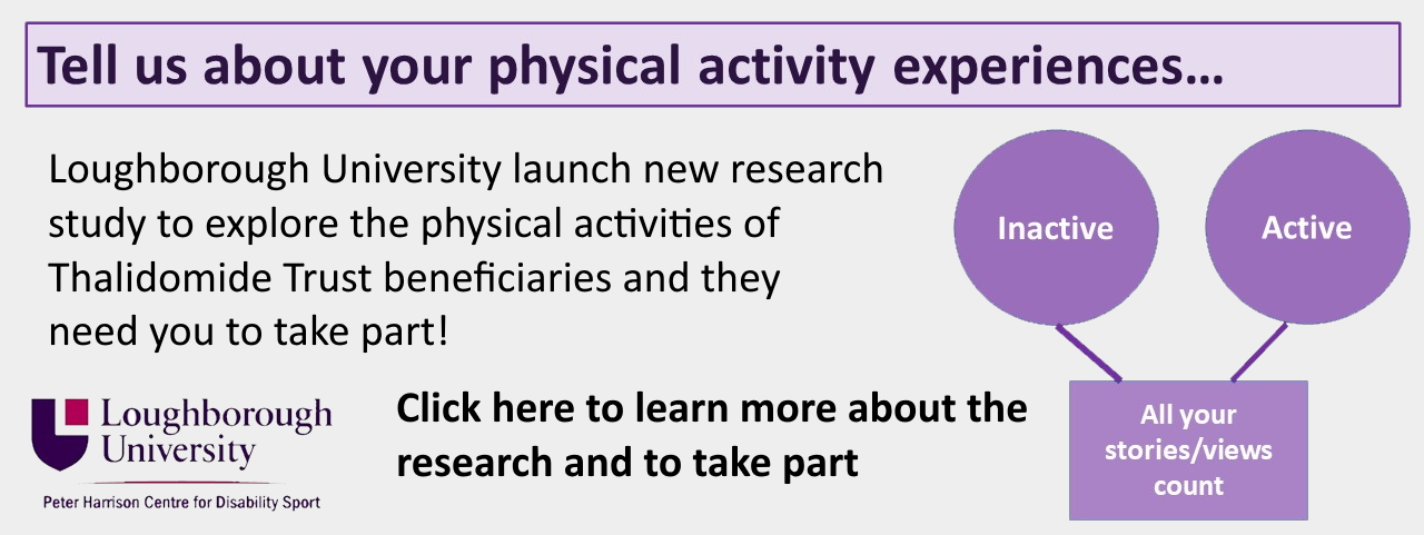 advertising new research project about physical activity experiences