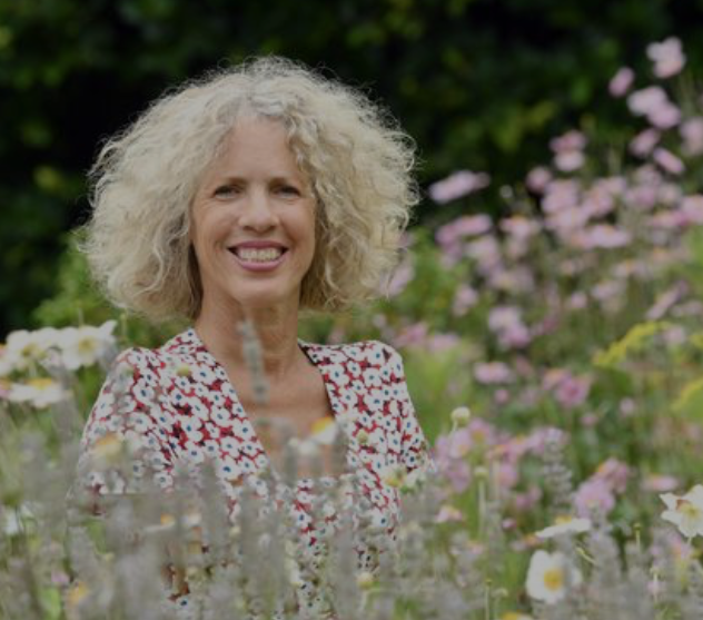 Sue Kent in her garden as featured on BBC Gardener's World